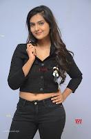 Neha Deshpandey in Black Jeans and Crop Top Cute Pics Must see ~  Exclusive Galleries 019.jpg