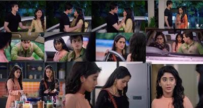 "Yeh Rishta Kya Kehlata Hai Episode 16th September 2019 Written Update "" Kartik Consoles Naira Vedika feels Insecure ""."