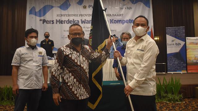 Hilman Hidayat Terpilih Secara Aklamasi Sebagai Ketua PWI Jabar