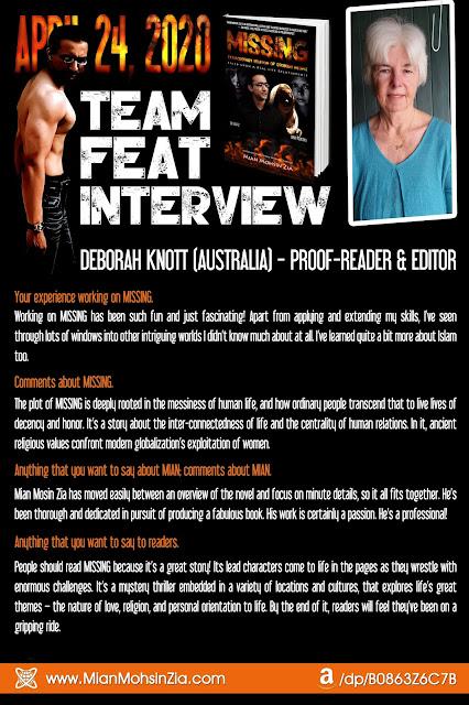 MISSING I Team Feat I Deborah Knott Talks About MISSING