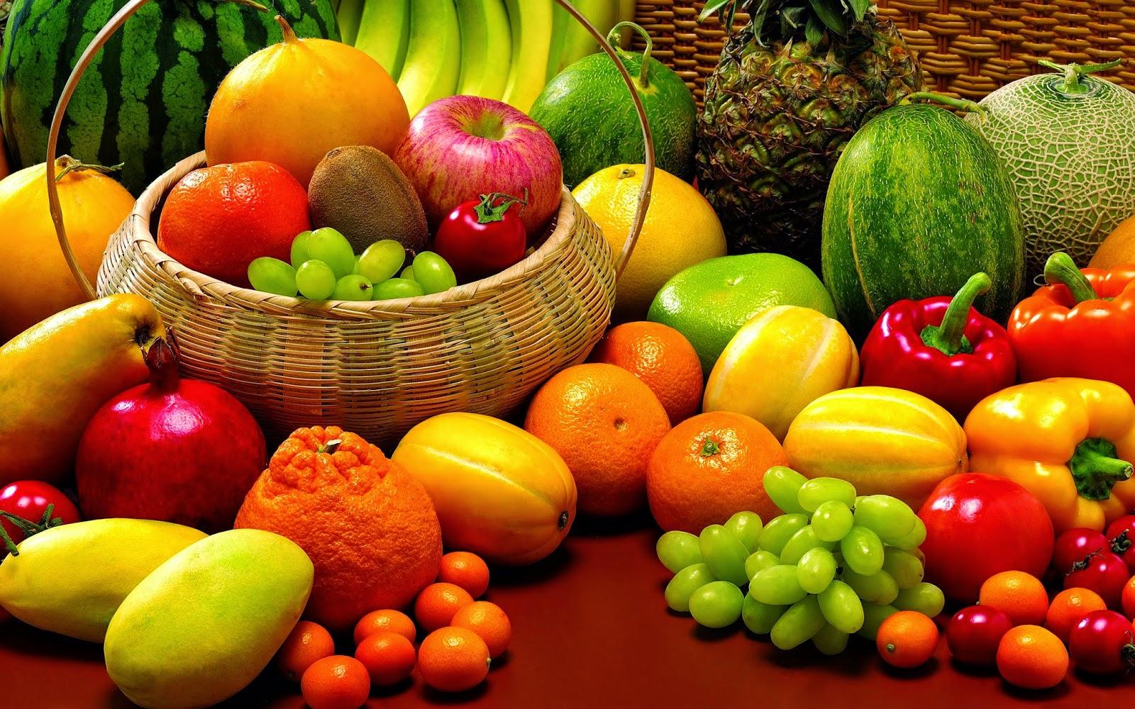 Gaya Hidup Sehat Manfaat Warna Warni Buah buahan dan Sayur sayuran