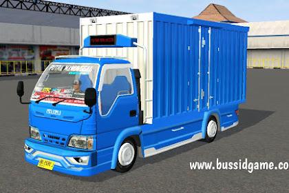 Mod Truck Isuzu Elf NKR71 Box Putra Manunggal By RMC Creation