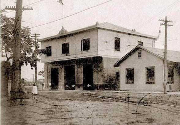 The old Paco Fire Station
