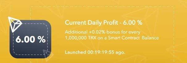 Инвестиционные планы TronDrip