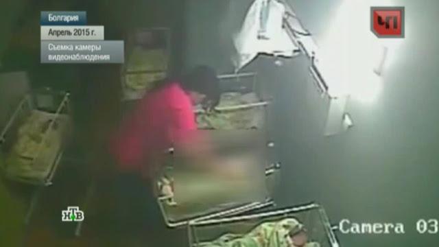 В болгарской «больнице ужасов» медсестра зверски избила младенца: видео