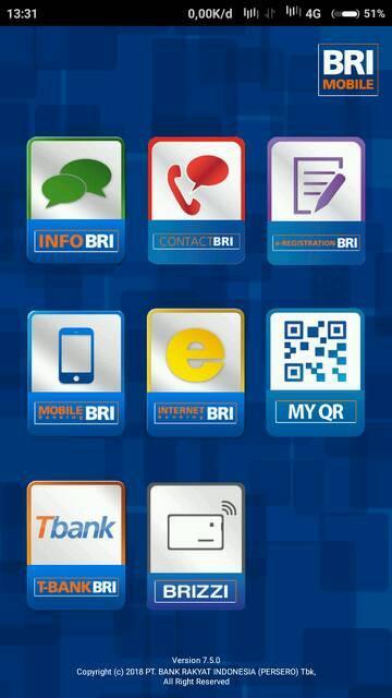 Cara Transfer Uang Lewat Hp Bank BRI Ke BRI Via Internet Banking - Internet Mobile Banking