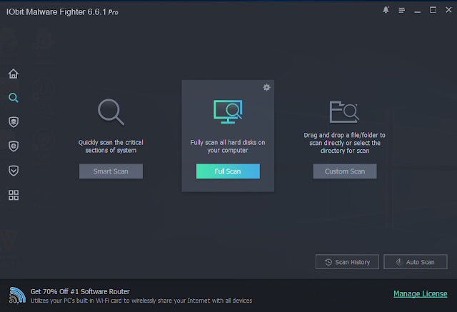 IObit Malware Fighter Pro 6.6.1.5153 Full Crack