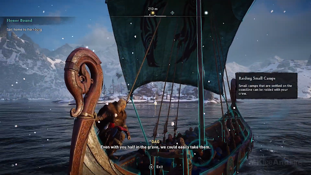 Screenshot Gameplay Assassin's Creed Valhalla PC