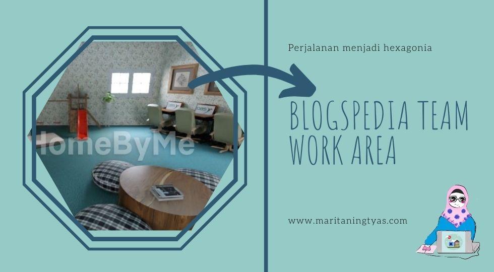 ruang kerja tim blogspedia