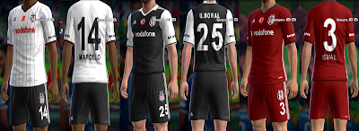 PES 2013 Update Kits 2016/17 #15/06/2016 by vladroman