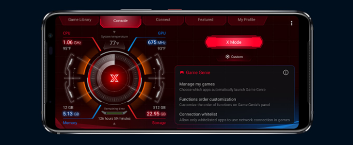 X MODE rog phone 3
