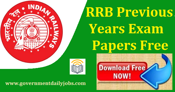 RRB Previous Question Papers Download