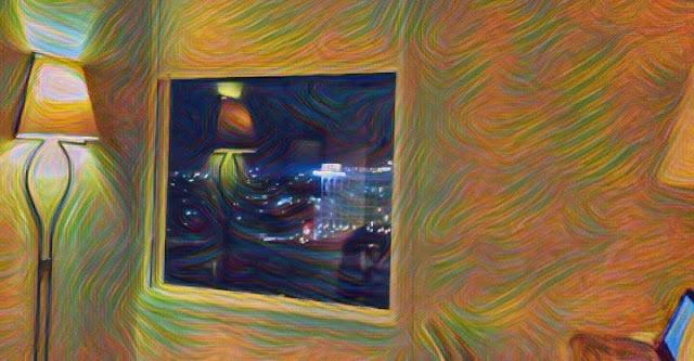 Menikmati Pemandangan Malam dari Jendela Kamar Hotel Ibis Styles Bandung Braga