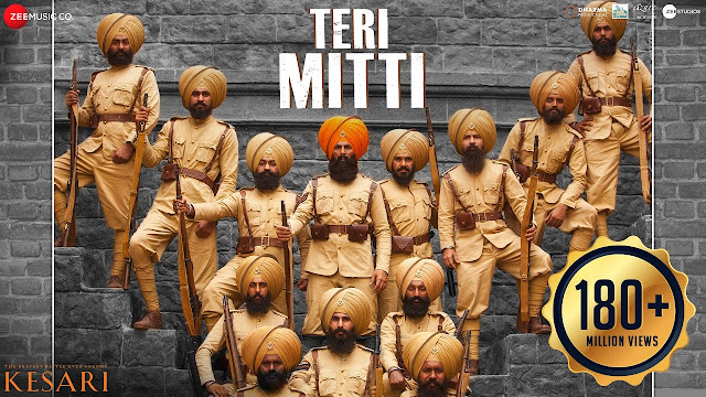 Teri Mitti Lyrics Kesari-(2019)-Akshay Kumar