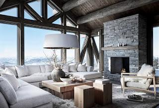 Дизайн-проекты. Рустикальное шале в Норвегии