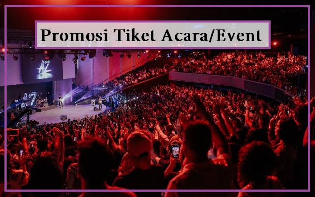 kata kata promosi acara event dan tiket