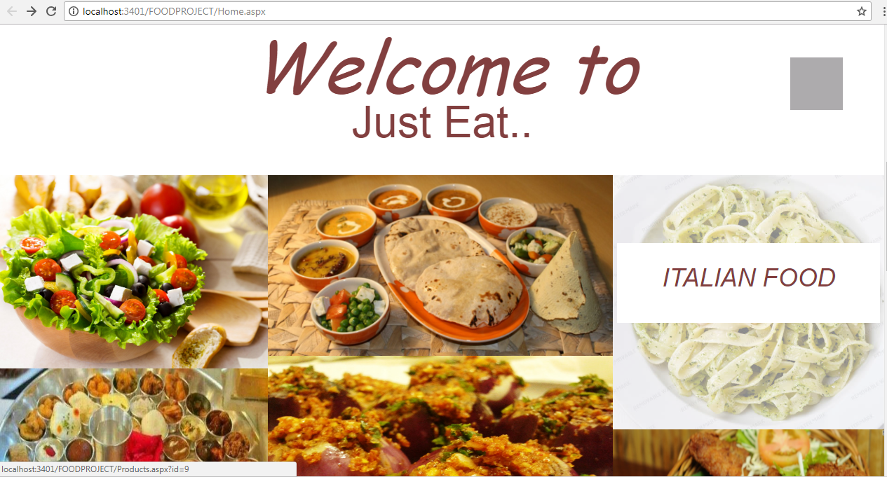 ONLINE FOOD ORDERING SYSTEM IN ASP NET SOURCE CODE AND SOFTWARE