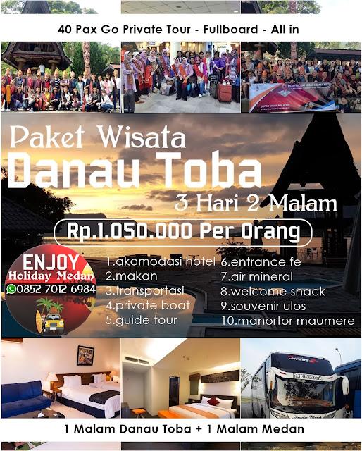 PAKET TOUR DAN WISATA DANAU TOBA 3 HARI 2 MALAM