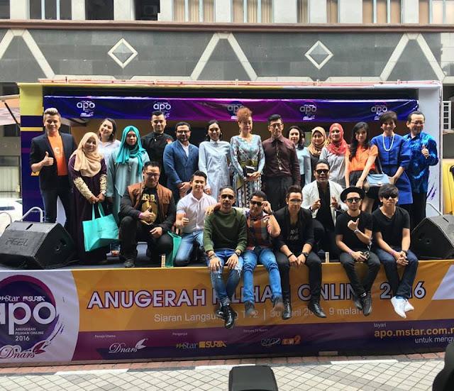 Finalis Anugerah Pilihan Online 2016