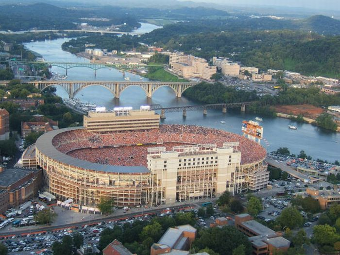 Sports Stadiums: A Birds Eye View: 25