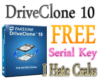 DriveClone 10 Free Download With Serial Key
