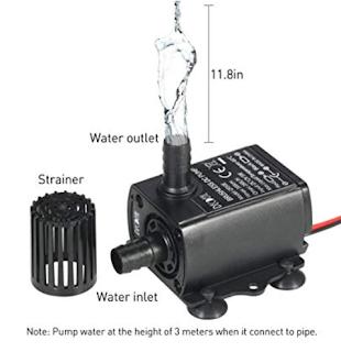 pompe 3m hauteur d'eau
