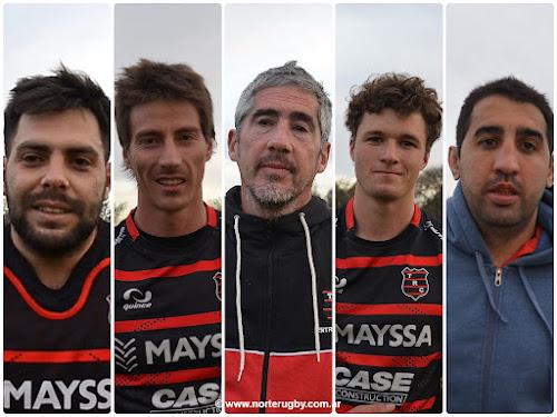 Lucas Leópolos, Jaime Durand, Mariano Huber, Tomás Elizalde y Baltasar Decavi #TRCvsJCS #AnualURS