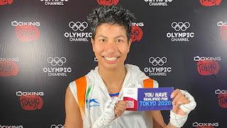 Lovlina Borgohain Tokyo Olympics