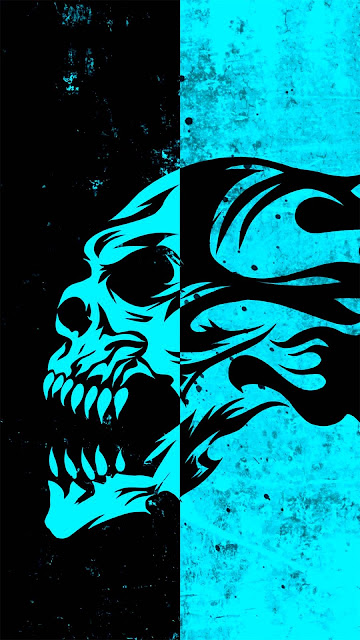 16 Skull Swords, Glow, Smoke Skull, Red Skull Wallpapers HD 4K 5K for Android and iPhone