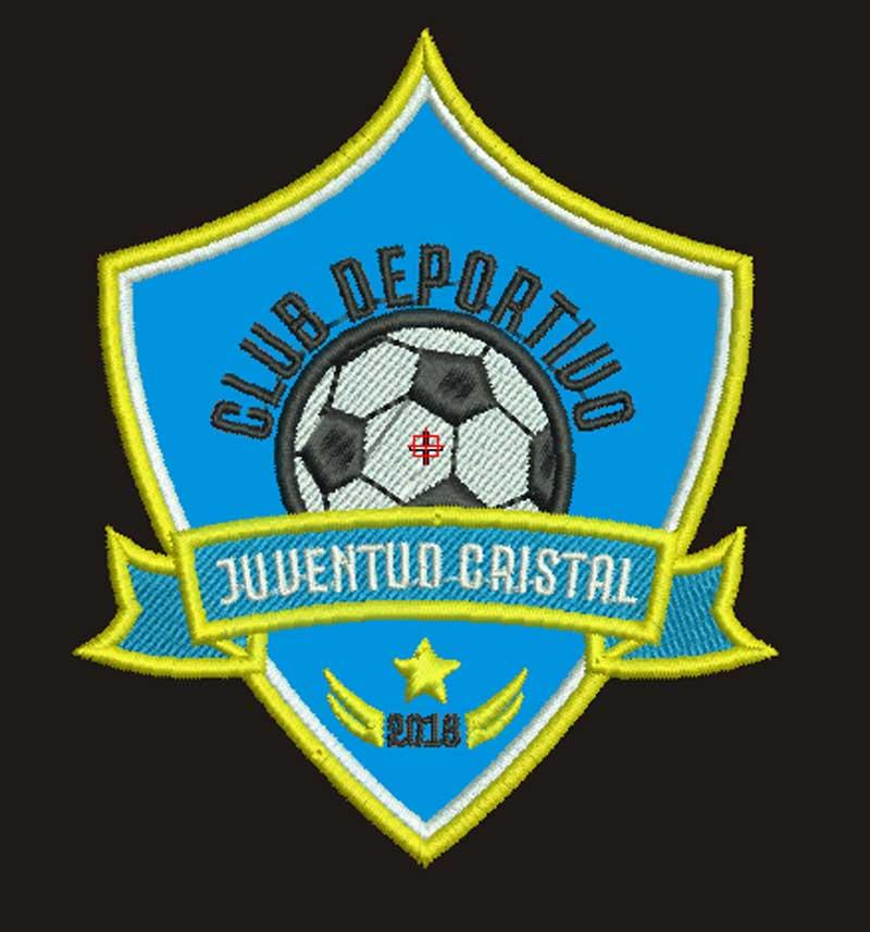 Escudo Club Deportivo Juventud Cristal para bordar
