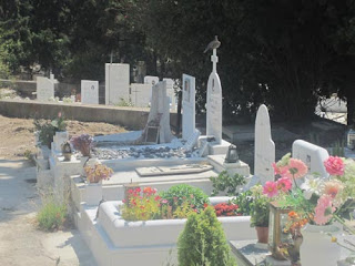 A Dove in the First Cemetery of Athens.