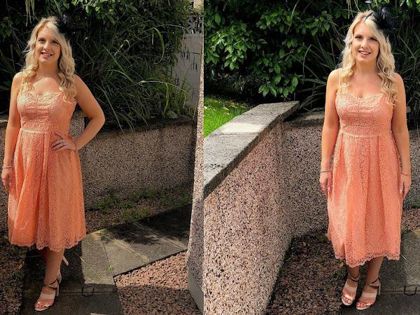 OOTD | Boohoo Wedding Guest Dress