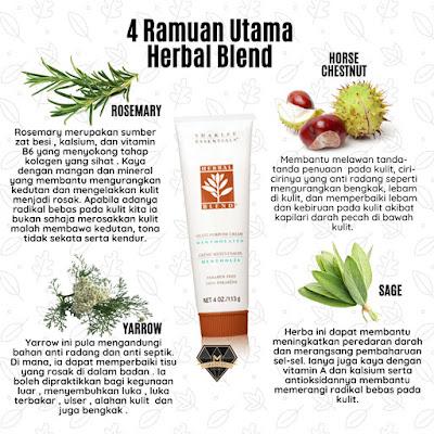 Herbal Blend Cream Krim Pelbagai Guna