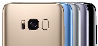 Spesifikasi Bodi Samsung Galaxy S8 Plus