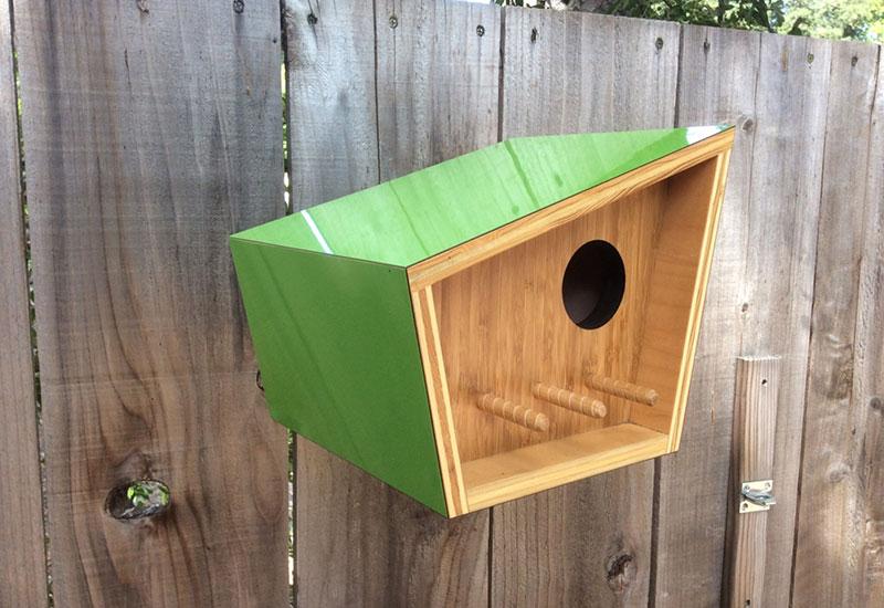 Architectural birdhouses by sourgrassbuilt - Casa para pajaros ...