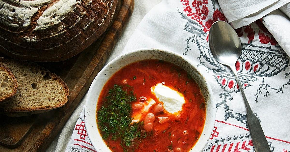 mea culina russische gem sesuppe borschtsch die vegetarische version. Black Bedroom Furniture Sets. Home Design Ideas