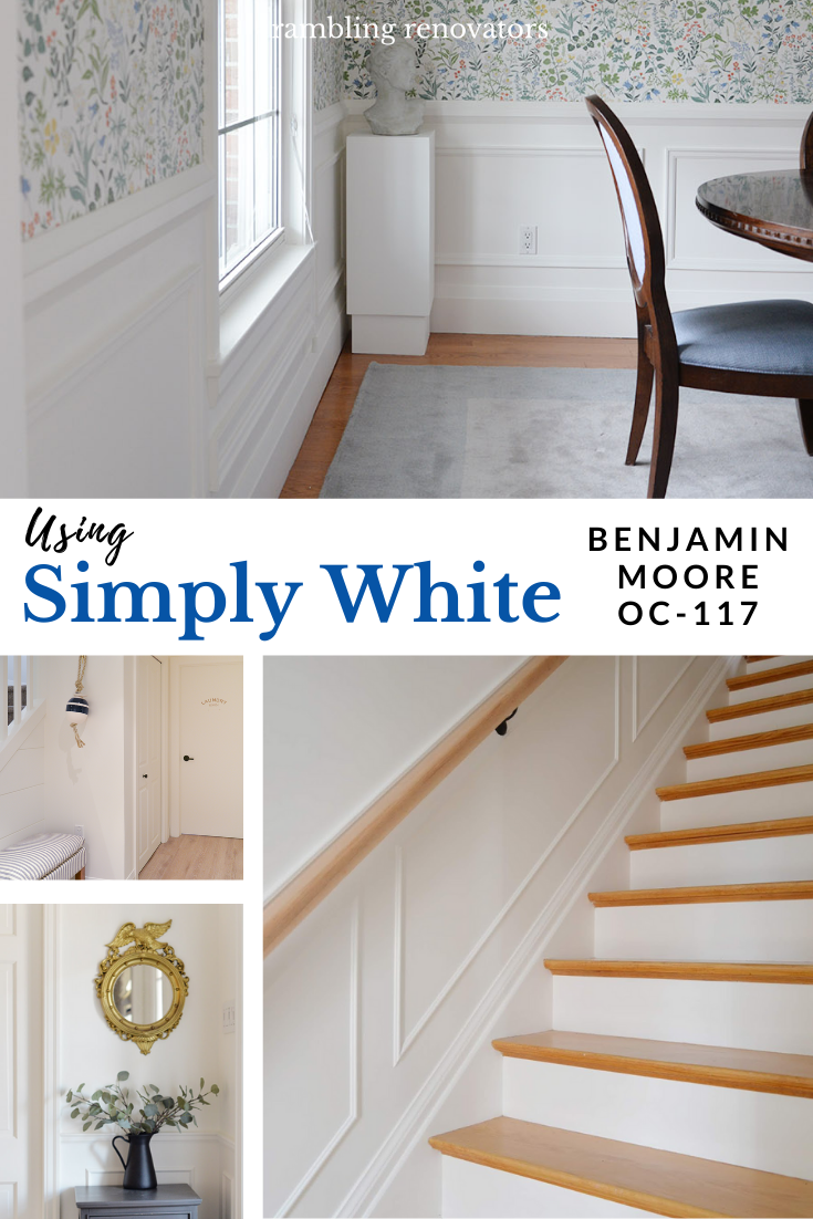 simply white benjamin moore, simply white oc-117, benjamin moore simply white