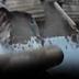 Derrumbe de muro pone en riesgo a varias viviendas en Comas