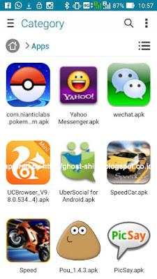 APK Pokemon Go setelah di-download dari apkmirror.