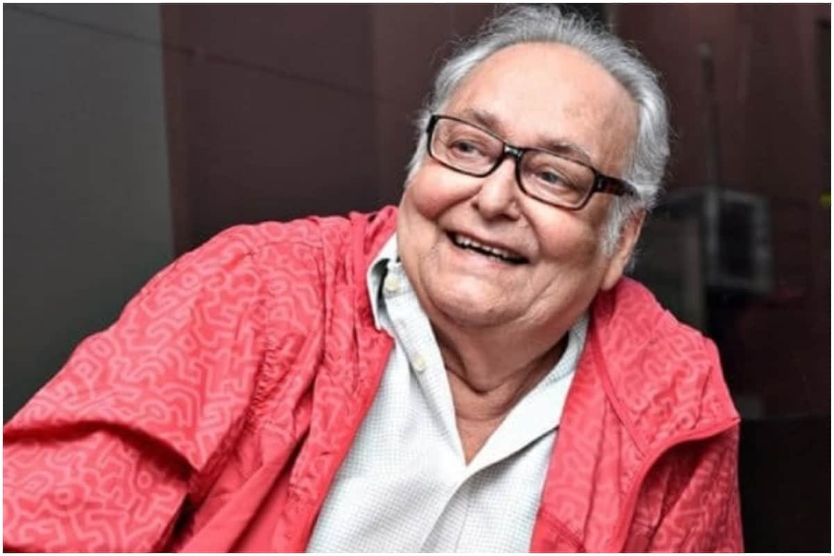 Famous Bengali actor Soumitra Chatterjee