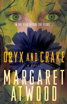 Oryx and Crake by Margaret Atwood – book cover