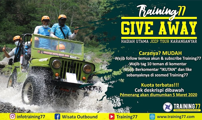 GIVE AWAY TIME TRAINING77