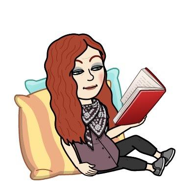 Karen Botmoji reading on cushions