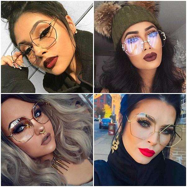 oculos de grau hexagonal