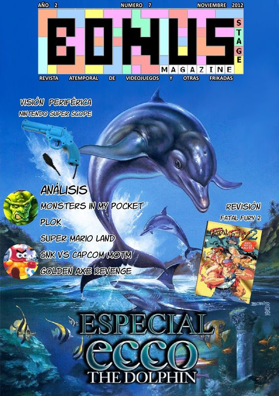 Bonus Stage Magazine #07 Especial Ecco The Dolphin (07)