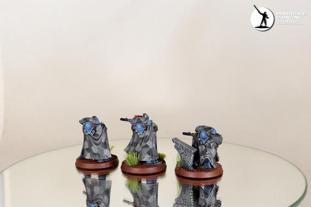 Warhammer 40K Ultramarines Eliminators cammo