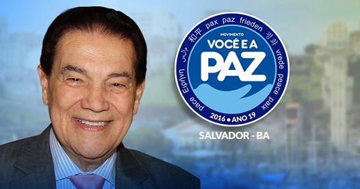 Movimento você pela paz domingo no Rio Vermelho