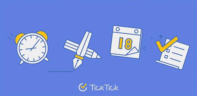 تنزيل TickTick: قائمة المهام مع التذكيرDay Planner  تطبيق شائع لتنظيم المهام اليومية لنظام الاندرويد