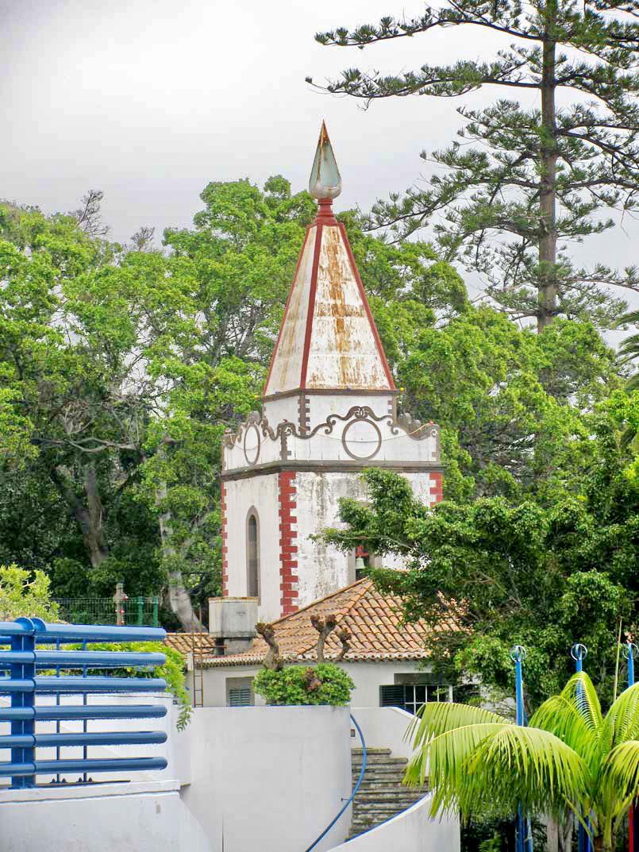Penha de França church tower and more