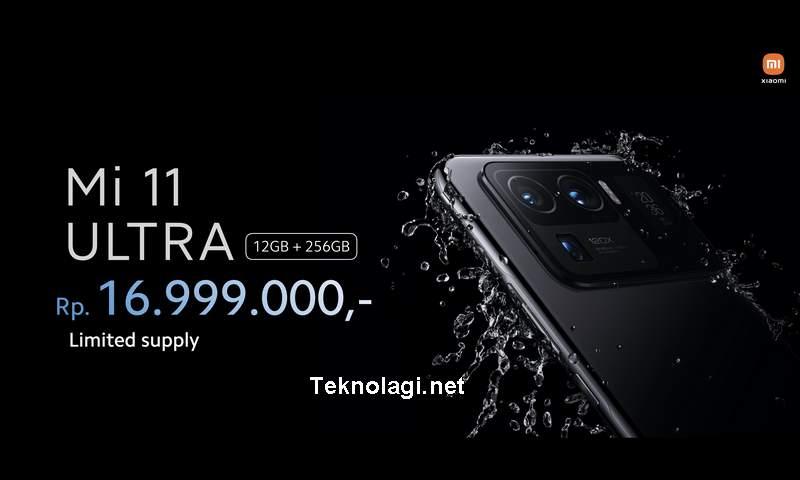 Harga Mi 11 Ultra (twitter.com)